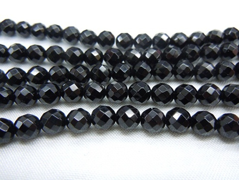 Bead Black Agate