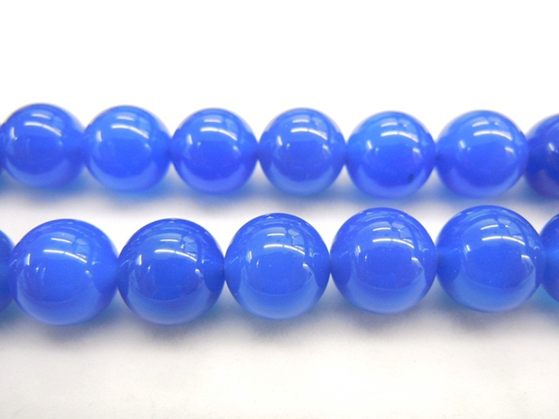 Blue Agate Dyed