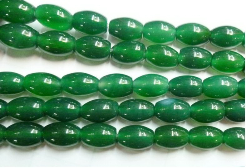 Green Agate Dyed