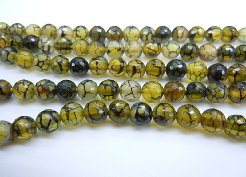 Yellow Black Fire Agate