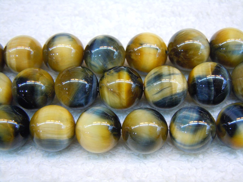 Yellow/Blue Tiger Eye A