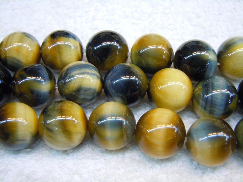 Yellow/Blue Tiger Eye