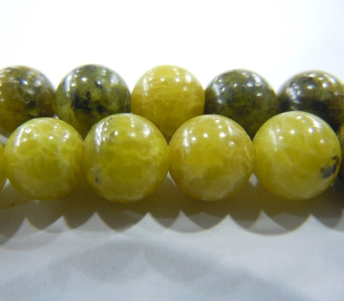 Yellow Howlite Stone China