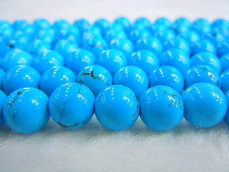 Blue Howlite Natural