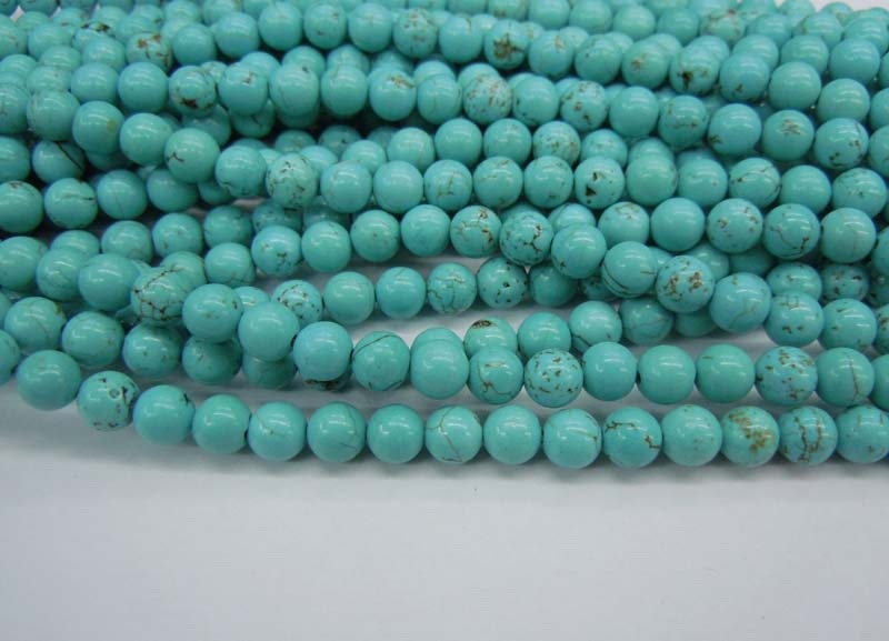 Blue Howlite Dyed