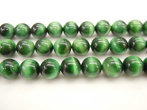 Green Tiger Eye Dyed