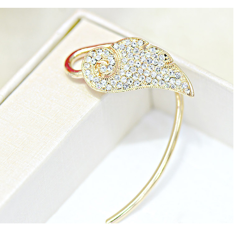 [Angel rhinestone Wings] Ear cuff